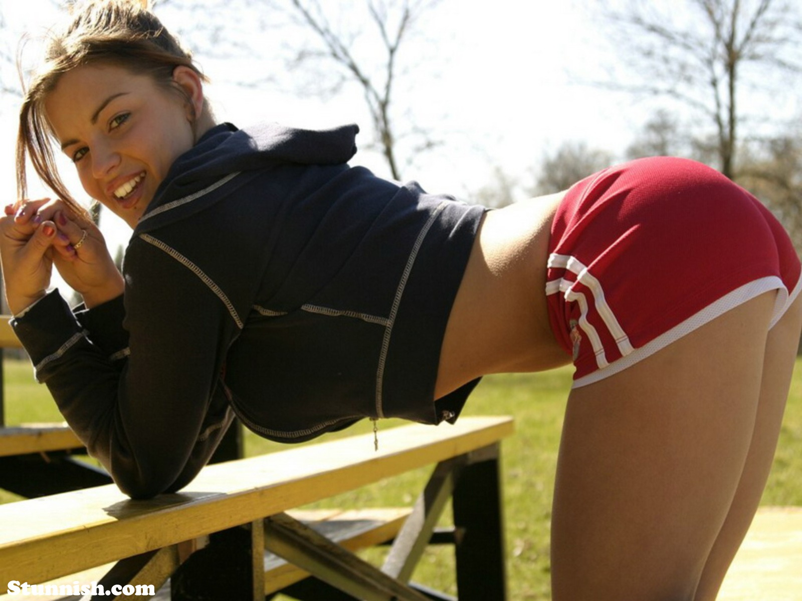 up skirt xhamster free watch and download up skirt NikkiLeigh Shorts Fitness Playboy
