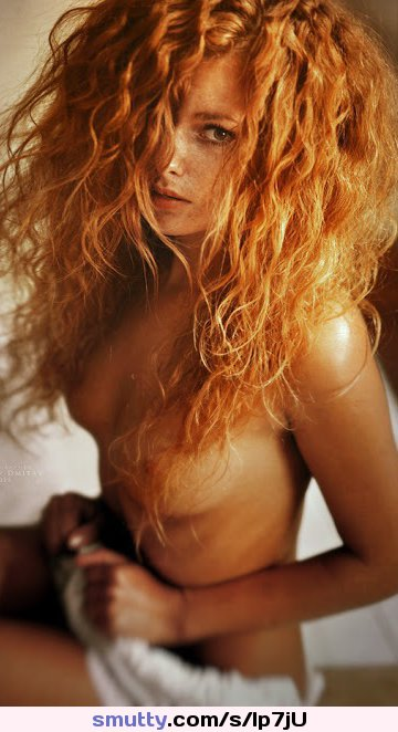 girl forced to have a threesome with two guys Redhair Eyecontact Freckles Sideboob Beautiful Incredibleeyes Nipple