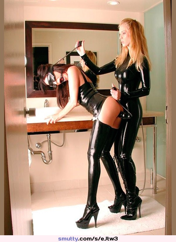 best porn on public show stages #crossdresser #inflatableboobs #latex #latexcatsuit #latexmask