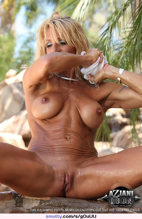 wife first time shared full amateur three #blonde #muscular #bodybuilder #ripped #legsspread #pussy #hardbody